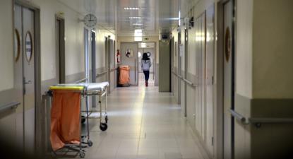 Corredor de Hospital. Foto de Paulete Matos.