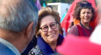 """""""Os eleitores têm toda a liberdade, face ao painel que a democracia lhes oferece, para poderem optar"""" salientou no momento de votar Zuraida Soares"""