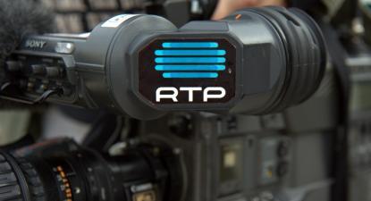 Câmara da RTP.