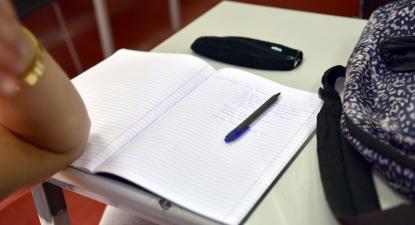 Escola. Foto de Paulete Matos.