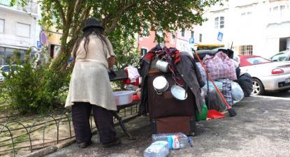 pessoa sem-abrigo