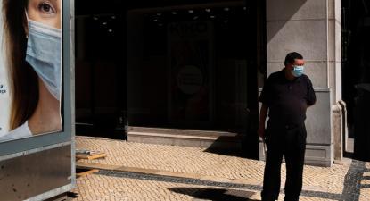 homem na rua