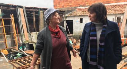 """""""É preciso investimento na organização do território"""", defende Catarina."""