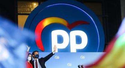 Díaz Ayuso e Pablo Casado
