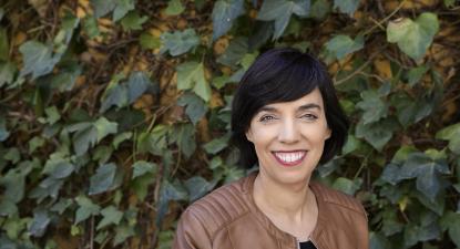 """Esther Vivas é socióloga e jornalista. Em Mama Desobediente procura """"politizar a maternidade""""."""