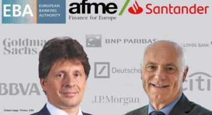 Adam Farkas e José Manuel Campa são dois novos protagonistas da saga das portas giratórias entre reguladores e regulados no setor financeiro europeu. Foto publicada no Corporate Europe Observatory