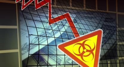 Crise económica na sequência da pandemia. Ilustração de Pixabay.
