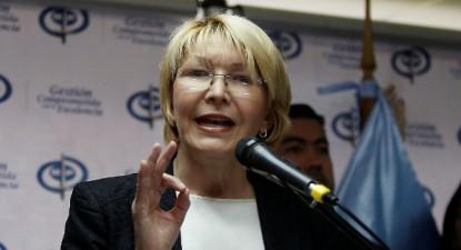 """Luisa Ortega Diaz acusa: """"sob um falso discurso antiimperialista, defraudaram a Venezuela"""""""