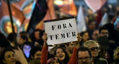 """Manifestação """"Fora Temer"""". Os movimentos democráticos """"precisam ocupar os espaços imediatamente"""", diz Boulos"""