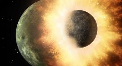 Formação da Lua