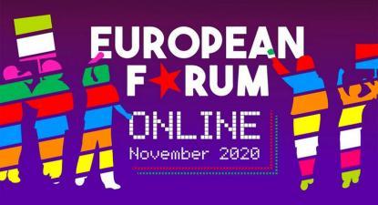 anúncio do Fórum Europeu