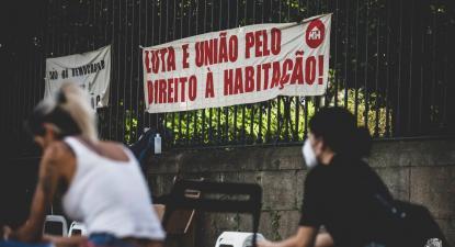 Vigília pelo direito à habitação