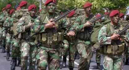 Comandos. Foto EMGFA.