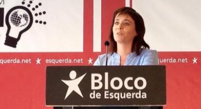 """Catarina Martins: """"Nós já pagamos, só nos falta mandar"""". Foto de Paulete Matos"""