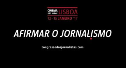 Cartaz do quarto Congresso dos Jornalistas.