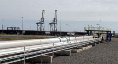 Terminal de GNL em Sines.