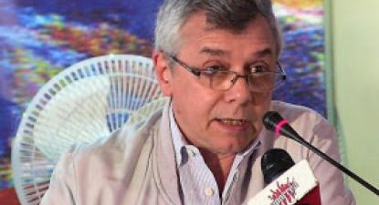 "Gonzalo Gómez: ""Socialism is not made with traps"". Photo: Aporrea.org"