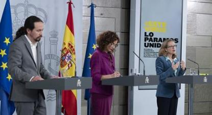 Conferência de Imprensa Governo PSOE-Unidas Podemos