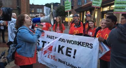 Greve McDonalds/Reino Unido - Foto Unite Community SEL/Twitter