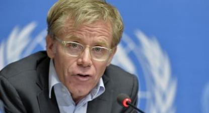 Bruce Aylward. Foto de UN Geneva