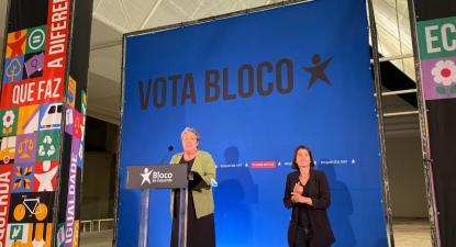 """Helena Pinto destacou que """"o Bloco de Esquerda propôs e conseguiu que todos os eventos neste concelho tenham tradução em Língua Gestual Portuguesa"""" - Foto de Andreia Quartau"""