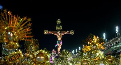 Mangueira traz Jesus Cristo jovem, negro e morador de favela - Gabriel Nascimento/Riotur/Fotos Públicas