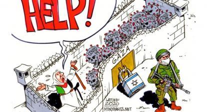 Ilustração de Latuff.