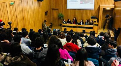 Sessão em Alcobaça