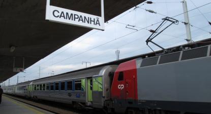 Todos os comboios de longo curso e regionais foram suprimidos - Foto de Paulete Matos