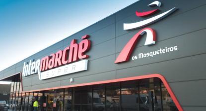 Intermarché. Foto da CGTP.