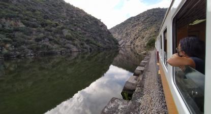 Isabel Pires na Linha do Douro