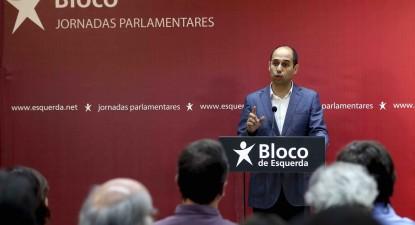 Pedro Filipe Soares discursa no encerramento das jornadas parlamentares.