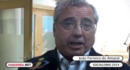 João Ferreira do Amaral foi entrevistado pelo Esquerda.net