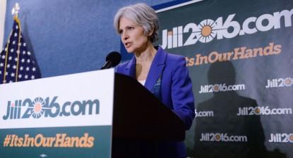 Jill Stein, candidata do Partido Verde às eleições presidenciais dos EUA de 2016