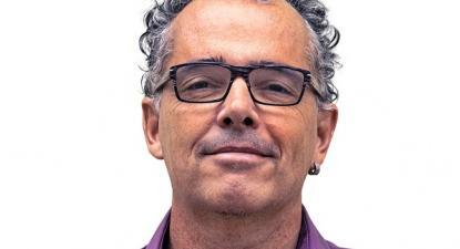 João Branco, candidato independente na lista do Bloco pelo círculo de Fora da Europa.