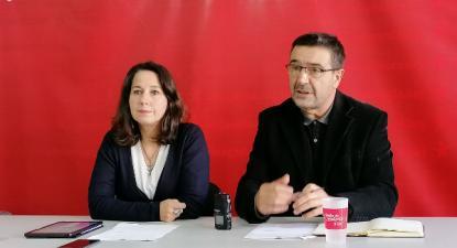 Alexandra Vieira e José Maria Cardoso, deputados eleitos, pela primeira vez, pelo círculo de Braga