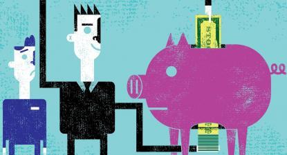 O Estado perde receita fiscal e capacidade de financiar os serviços públicos, enquanto os acionistas recebem a fatia de leão dos ganhos