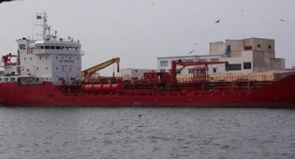 """Há muitos anos que o navio """"Key Bay"""" faz o transporte de peixe e óleo de peixe desde o Sahara Ocidental até à Europa"""
