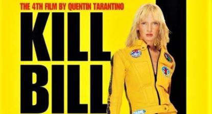 """Zizek não hesita em comparar o coronavírus à heroína do filme """"Kill Bill"""", de Quentin Tarantino, como se o corona e a sua espada viral estivessem a dar um golpe fatal no capitalismo"""