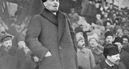 Lenine, 18 de março de 1919 – Foto wikipedia