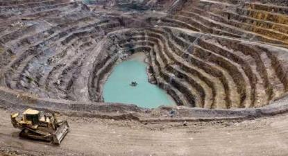 Exploração de lítio - Foto da associação ambiental Zero