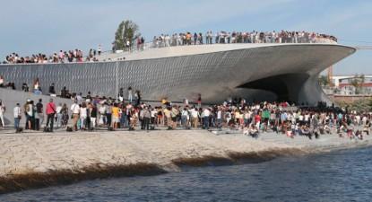 Abertura ao público do MAAT - Museu de Arte, Arquitetura, e Tecnologia – Foto de Manuel de Almeida/Lusa