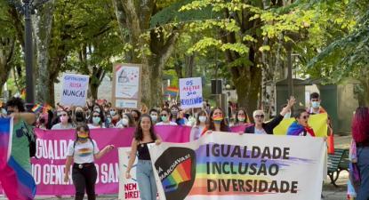 Marcha LGBTQIA Viseu, 11 de outubro de 2021 – Foto Interior do Avesso