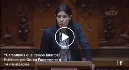 """""""Garantimos que iremos lutar para melhorar o orçamento"""", afirmou Mariana Mortágua no debate do OE 2020"""