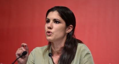 Mariana Mortágua apresentou os projetos em conferência de imprensa