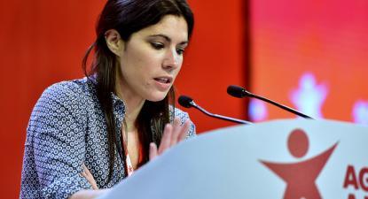 Mariana Mortágua - foto de Paulete Matos