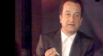 """Mário Viegas no programa """"Palavras Vivas"""""""