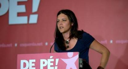 Continuaremos o nosso trabalho, sem traições, disse Marisa Matias. Foto de Paulete Matos