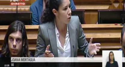 "Joana Mortágua: ""A Escola Pública voltou a ser um factor de mobilização para a sociedade"""