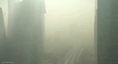 Beijing Airpocalypse Arrival